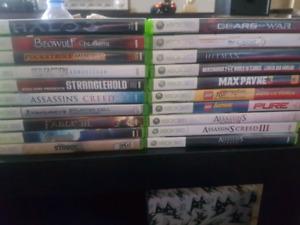 Xbox 360 avec lot de 24 jeux et accessoires