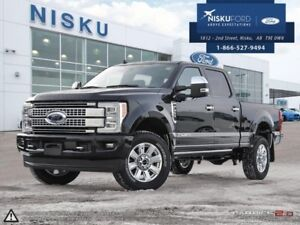 2019 Ford F-350 Super Duty Platinum  - Leather Seats