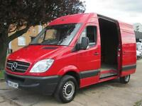 2012 62-REG Mercedes-Benz Sprinter 2.1TD 313CDI MWB HIGH ROOF **AIR CON**