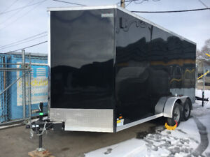 2019 -New 7x16 (xtra tall) V-nose enclosed cargo utility trailer