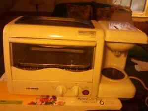 Toster oven , grill , coffee maker all in one