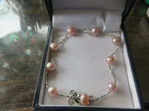pearl  bracelet for large wrist