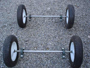 UTILITY TRAILER WHEELS TIRES AXLES MOUNTS