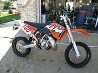 KTM 65SX Motocross Bike