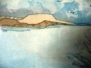 """Original Etching by Jennifer Berringer, """"Summer Storm"""" 1980's Stratford Kitchener Area image 9"""
