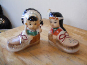Vintage Indian Salt and Pepper Shackers