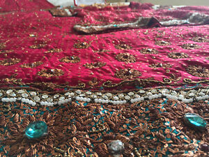 Selling beautiful red Pakistani wedding outfit