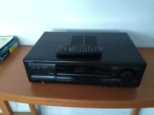 Technics receiver with remote control
