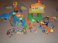 Huge lot of Go Diego Go Toys