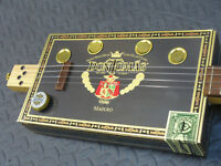 Want to challenge yourself with a 3 or 4 string cigar box guitar