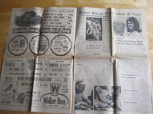 Heading to the Moon. 1969 NEWSPAPER. LAST CHANCE!! Cambridge Kitchener Area image 3