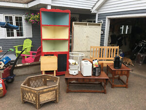 Yard sale June 3 rd everything pictured and more!  7 am