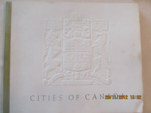 CITIES OF CANADA: Reproductions from the Seagram Collection 1953