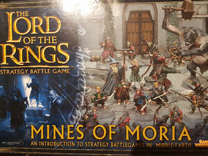 Lord of the Rings/Hobbit games workshop miniatures