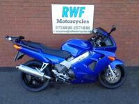 HONDA VFR 800F, 2001, VGC, ONLY 26,470 MLS, 12 MONTH MOT, FINANCE, DELIVERY & PX