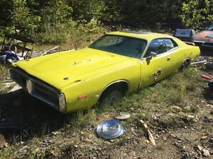 Pieces dodge charger 1973