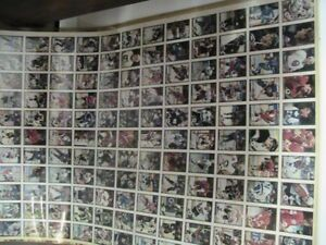 91-92 OPC uncut hockey sheets