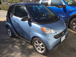 2013 Smart Fortwo Passion Coupe (2 door) + CoverageOne warranty