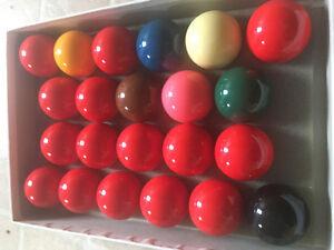 Full set Cooper Snooker Balls