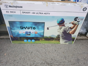 Westinghouse 65inch smart tv