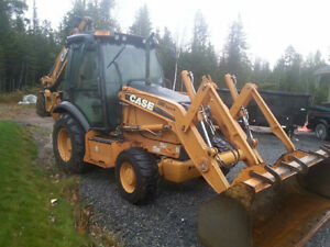 (((( REDUCED )))) 2011 CASE 580 SUPPER N EXTENTED HOE 4X4