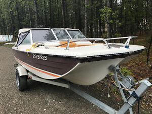 1978  AMF Muskie 550 15.5 open tri bow $ 4000.00 obo