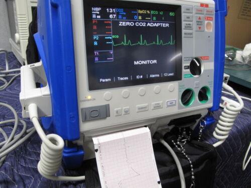 Zoll M Series CCT - 12 Lead, Pacing, NIBP, SpO2, CO2, Printer