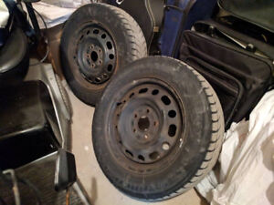 """Two 15"""" rims from 2006 Mazda3"""