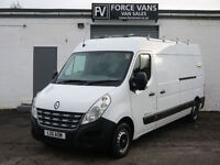 RENAULT MASTER 2.3TD LWB HIGH K9 DOG WALK EUROPEAN PET ANIMAL TRANSPORT VAN