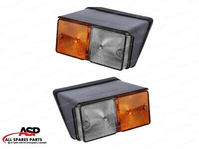 Front Side Combination Light Set For Caseih Fiat Ford Tractors