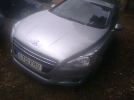 Peugeot 508 breaking for spares all parts available silver