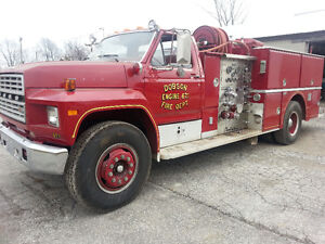 FIRE TRUCK - 1982 PUMPER FROM NC - 20400miles