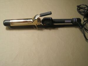 """Hot Tools Professional Curling Iron, Spring Handle, 2"""" Barrel"""