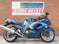 2007 KAWASAKI ZZR1400 A7F SPORTS TOURER MOTORCYCLE