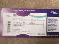 Pete Tong Presents Ibiza Classics x2 tickets - Birmingham