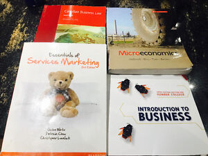 Used Business Textbooks ( Humber college)