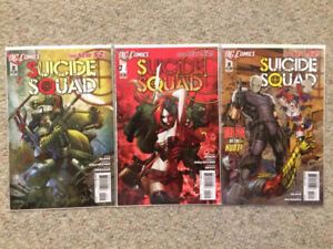 Suicide Squad New 52 Issue 1 2 3 Harley Quinn DC Comics Downtown