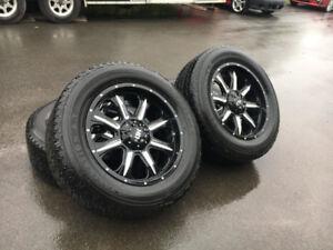 4 mags Fast HD 20'' monter sur pneus été Firestone Destination