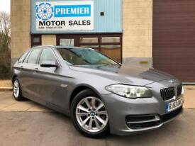 2013 (63) BMW 520D SE AUTO TOURING, SAT NAV, FULL HEATED LEATHER, PHONE +