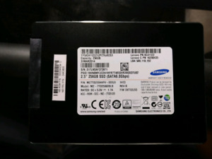 Samsung SSD 256GB TESTED & FULLY WORKING