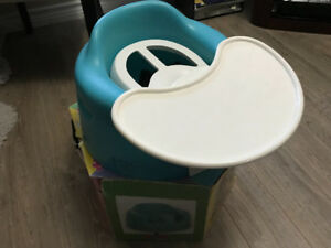 Bumbo chair with accessories