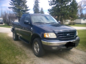 Safetied 2002 Ford F150 4x4 XTR $4600 OBO