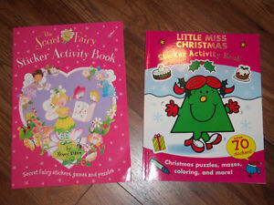 ACTIVITY BOOKS FOR YOUNG CHILDREN **NEW**