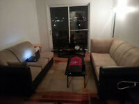 Fully Furnished 2 Bedrooms Apartment for Sublease