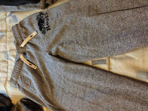 4 pairs of roots jogging pants with small blemishes