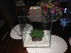(2) 5 gallon Fluval Chi Aquariums for sale