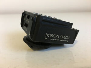 METZ SCA 3401, 3402 Camera Flash Adapters for Nikon