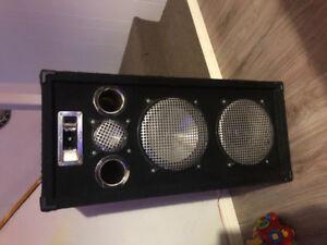 Haut Parleur Speaker (Colonne de son) 700 watts (350WRms) chaque