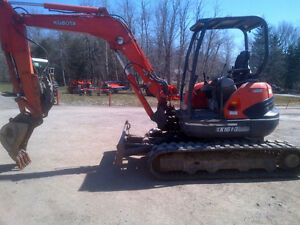 wow one time deal Kubota kx 161-3 one owner