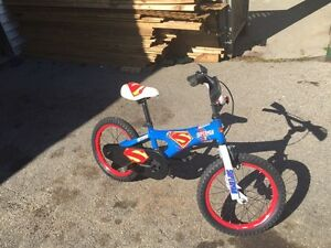"Kids 12"" superman bike"